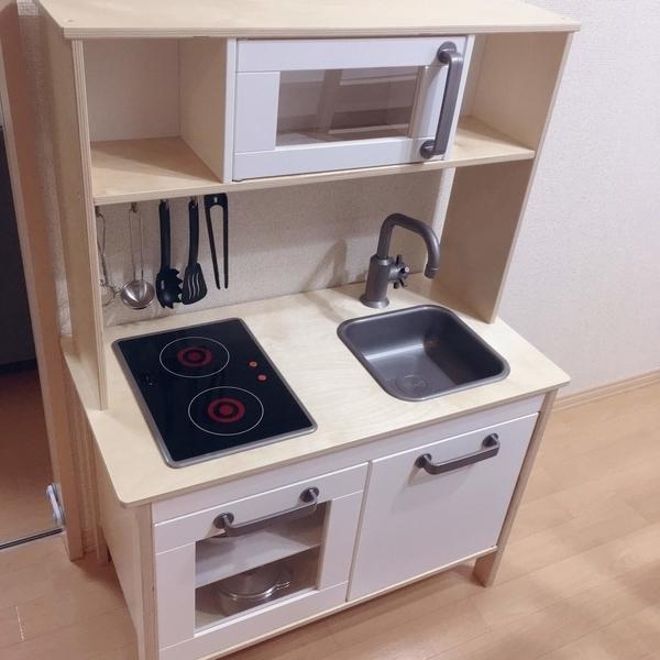 IKEAのおままごとキッチンDUKTIG