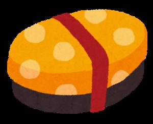 お弁当箱のイラスト