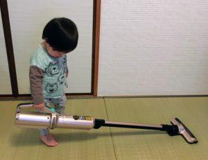 KIC-SLDC7を持つ1歳息子