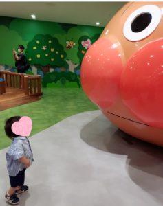 ミュージアム内にあるアンパンマンごう