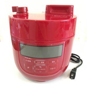 Siroca電気圧力鍋SP-D131レッドの写真