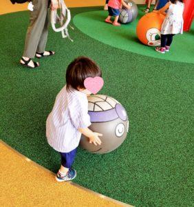 アンパンマンミュージアム内のボールパーク