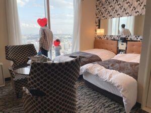 アパホテル スーペリアツインの全体写真