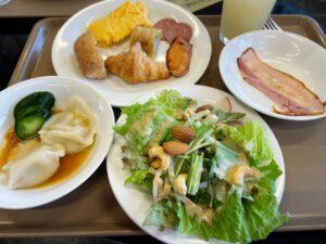 「ラ・ベランダ」で食べた大人の朝食